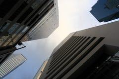 Alte costruzioni di affari Immagini Stock
