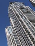 Alte costruzioni di appartamento di aumento Immagini Stock Libere da Diritti