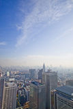 Alte costruzioni di aumento di Tokyo Immagini Stock Libere da Diritti