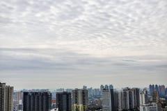 alte costruzioni di Guangzhou Fotografia Stock