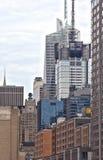 Alte costruzioni di New York Fotografia Stock