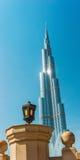 Alte costruzioni e vie di aumento nel Dubai, UAE Immagine Stock