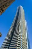 Alte costruzioni e vie di aumento nel Dubai, UAE Fotografie Stock