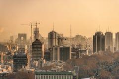 Alte costruzioni in grande città Immagine Stock Libera da Diritti