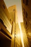 Alte costruzioni moderne Immagine Stock