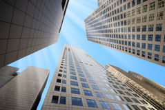 Alte costruzioni moderne Fotografia Stock Libera da Diritti