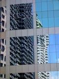 Alte costruzioni moderne di aumento Fotografia Stock Libera da Diritti