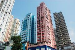 Alte costruzioni residental Fotografia Stock Libera da Diritti