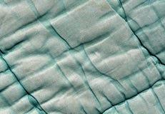 Alte cyan-blaue Farbdeckenbeschaffenheit Lizenzfreie Stockfotografie