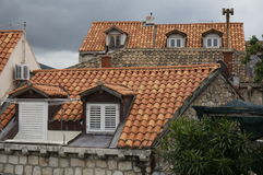 Alte Dächer Lizenzfreies Stockbild