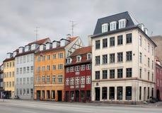 Alte dänische Straße Stockfotos