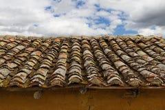 Alte Dachhalle Adobe Stockfotos