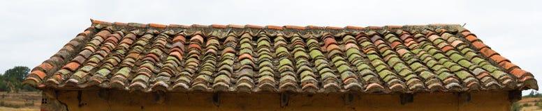 Alte Dachhalle Adobe Stockfoto