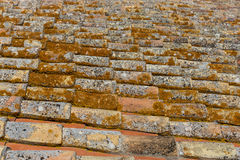 Alte Dachplatten Lizenzfreies Stockfoto