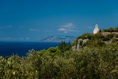 Alte dalmatinische Kirche Lizenzfreie Stockbilder