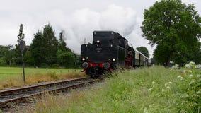 Alte Dampf-Serie stock video footage