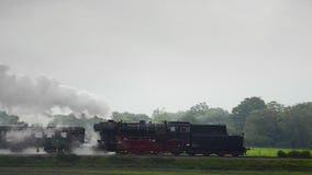 Alte Dampf-Serie stock video