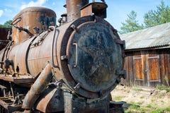 Alte Dampflokomotive Lizenzfreies Stockbild