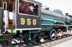 Alte Dampflokomotive Stockbild