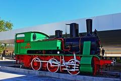 Alte Dampflokomotive Lizenzfreie Stockfotos