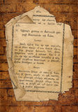 Alte Datei von der Bibel Stockfotos