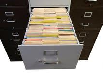Alte Dateien Lizenzfreie Stockfotografie