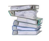 Alte Dateiordner Lizenzfreie Stockfotos