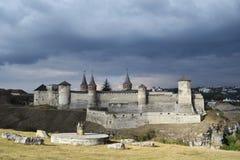 Alte defensive Festung Stockbilder