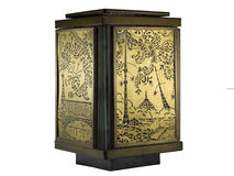 Alte dekorative Lampe Stockbild