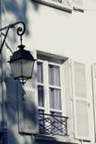 Alte dekorative Lampe stockbilder