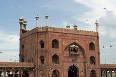 Alte Delhi-Moschee Stockbild