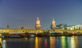 Alte deutsche Brücke stockbilder