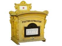 Alte deutsche Mailbox Stockbilder