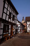 Alte deutsche Stadt Stockbild