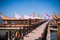 Alte Dian Wharf in kunmingï ¼ ŒChina Lizenzfreie Stockfotografie