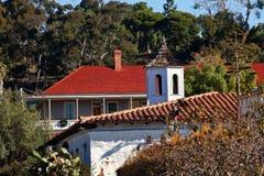 Alte Diego-Stadt Roofs Kalifornien Lizenzfreies Stockbild