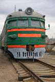 Alte Diesellokomotive lizenzfreies stockbild