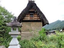 Alte Dorfstruktur stockbilder