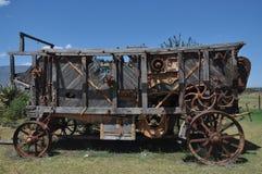 Alte Dreschmaschine Lizenzfreies Stockbild