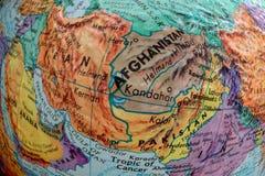 Alte Druck-Karte, der Iran, Afghanistan, Pakistan, Türspion stockfotos