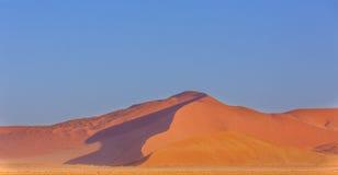 Alte dune di sabbia rosse Immagine Stock Libera da Diritti