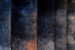 Alte dunkelblaue Wand des Grungy Bratenfetts des Treppen-Beschaffenheits-Hintergrundes konkreten stockfotos