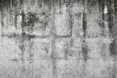 Alte dunkelgraue Betonmauerbeschaffenheit Lizenzfreies Stockfoto