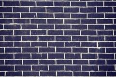 Alte dunkle Backsteinmauerbeschaffenheit oder -hintergrund Lizenzfreie Stockfotografie