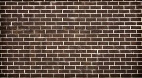 Alte dunkle Backsteinmauerbeschaffenheit oder -hintergrund Lizenzfreie Stockbilder
