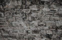 Alte dunkle Zementwand in der grauen Farbe Stockbilder