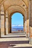 Alte Durchführung. Diano D'Alba, Italien. Stockbilder