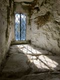 Alte Einfügungs-verbleites Fenster Lizenzfreie Stockbilder