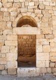 Alte Eingangs-Ruinen Stockfotos