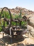 Alte Einheit im Namibiam Bauernhof Stockbilder